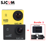 3 Batteries And Dual USB Charger SJCAM SJ4000 Series SJ4000 SJ4000 WIFI SJ4000 Plus WiFi Sports