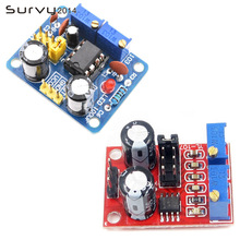 NE555 Pulse Frequency Duty Cycle Square Wave Rectangular Wave Signal Generator Adjustable 555 Board NE555P Module diy 555 multi wave signal generator circuit kit