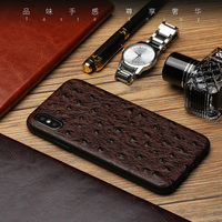 For IPhone X 10 Case Luxury Genuine Leather Cases For IPhone 6 7 8 Plus Cover