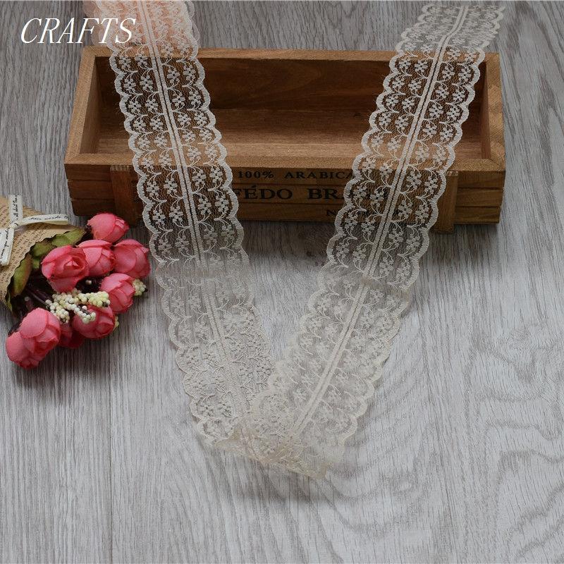 HTB1eqRggN6I8KJjSszfq6yZVXXal New! 10 yards of beautiful lace ribbon, 4.5 cm wide, DIY Clothing / Accessories / floral accessories, etc.