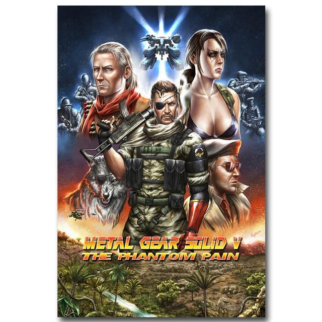 Шелковый плакат гобелен игра Metal Gear Solid V вариант 5