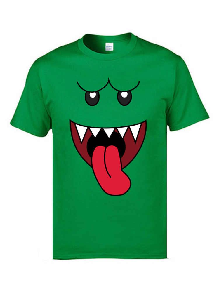 Boo Смайл лицо шутка футболки Ретро Mugshot озорные смайлики индивидуальные футболки 3D футболки мужские белые модные футболки негабаритные