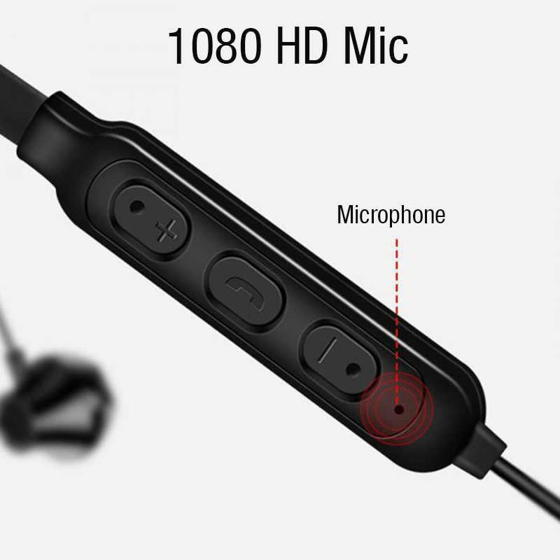 LYMOC Спортивные Bluetooth наушники с шейным ремешком, беспроводные наушники, стерео гарнитуры, для бега, для iPhone, samsung, huawei, Xiaomi, телефона
