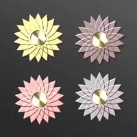 Beautiful Lotus Flower Design Hand Spinner Finger Gyro Rotation Long Time High Quality Fidget Spinners EDC
