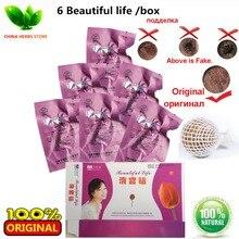 6pcs/box Bang de li Original beautiful life tampon clean point feminine hygiene vaginal tampon vaginal cleansing herbal tampons