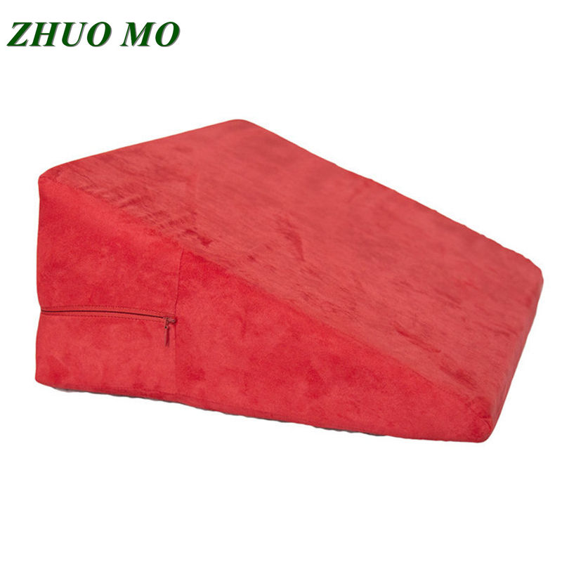 Triangular Pillow Furniture For Lover Magic Cushion Sofa Bed Erotic Products Adult Game Toys Bed Linings Memory Foam Pillow