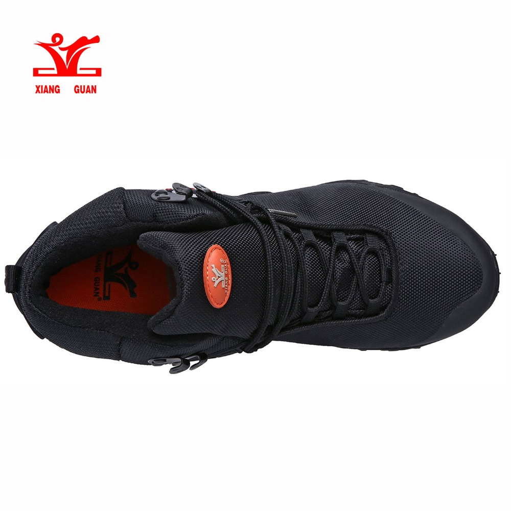 c0689d35f583 XIANG GUAN Men s Outdoor High Top Oxford Water Resistant Trekking Hiking  Boots Size EU 36 46-in Hiking Shoes from Sports   Entertainment on  Aliexpress.com ...