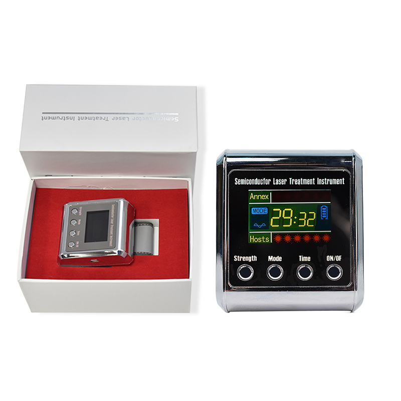 где купить Laser Wrist Apparatus LLLT Therapy for Cholesterol Diabetes Hypertension Cerebral Thrombosis Rhinitis Treatment Machine 650nm по лучшей цене