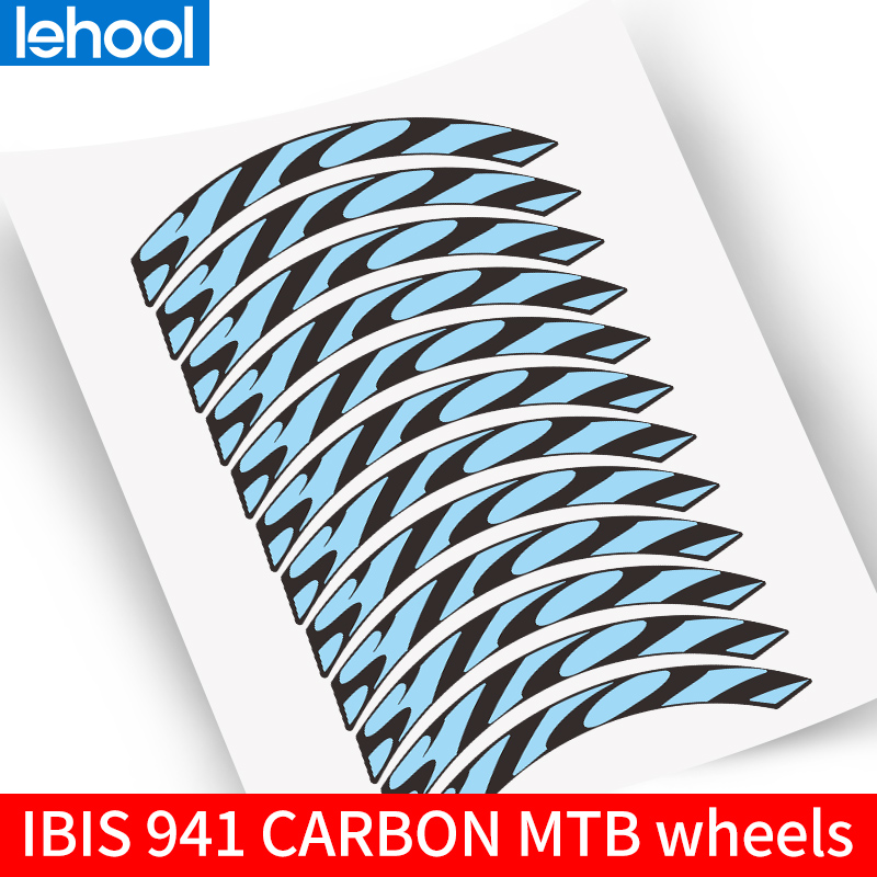 Mountain Bike Wheel Rim Replacement Sticker for Ibis 941 Bicycle Carbon MTB