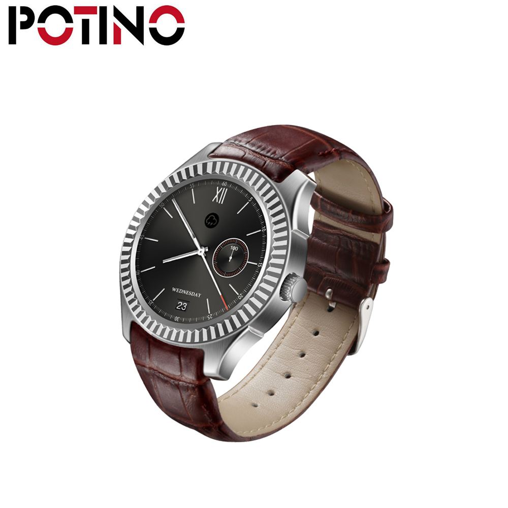 POTINO D7 Smart Watch Android 4.4 SIM Bluetooth 4.0 Smartwatch 500mAh GPS WIFI 3G Heart Rate Monitor Smart Wearable Devices new arrival pw308 update version smartwatch androidwatch with 3g sim compass gps watch wearable devices smart electronic
