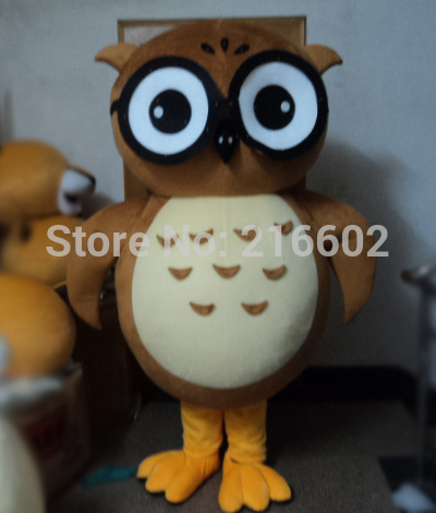Hot sale High quality owl mascot costume Free shipping