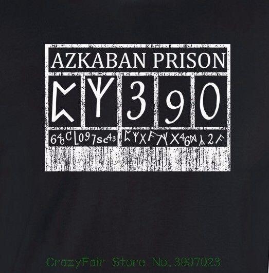 bff80591f Azkaban Prison Sign T-shirt Harry Sirius Potter Hogwarts Mens Unisex Ladies  Tee Tops Tees Men 100% Cotton