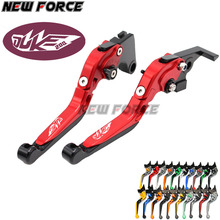 цена на BJMOTO CNC Aluminum Blade Adjustable Brake Clutch Levers Set For KTM DUKE 390 2013-2017 DUKE 200 125 RC 125 200 390 2014-2017