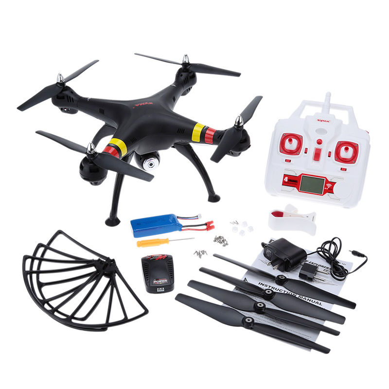 New Syma X8W FPV 2.4Ghz Headless RC Quadcopter Drone MP Wide Angle 2.4G 4CH 6Axis RTF SYMA X8C Dron RC Helicopter toys for kid original syma x13 storm rc drone mini quadcopter 2 4g 4ch 6 axis quad copter headless helicopter gift for kid vs h8 mini h21 h22