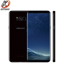 Оригинальная версия США samsung Galaxy S8 плюс G955U мобильный телефон 6,2 «4 ГБ Оперативная память 64 ГБ Встроенная память OctaCore IP68 водонепроницаемая пыле NFC телефон