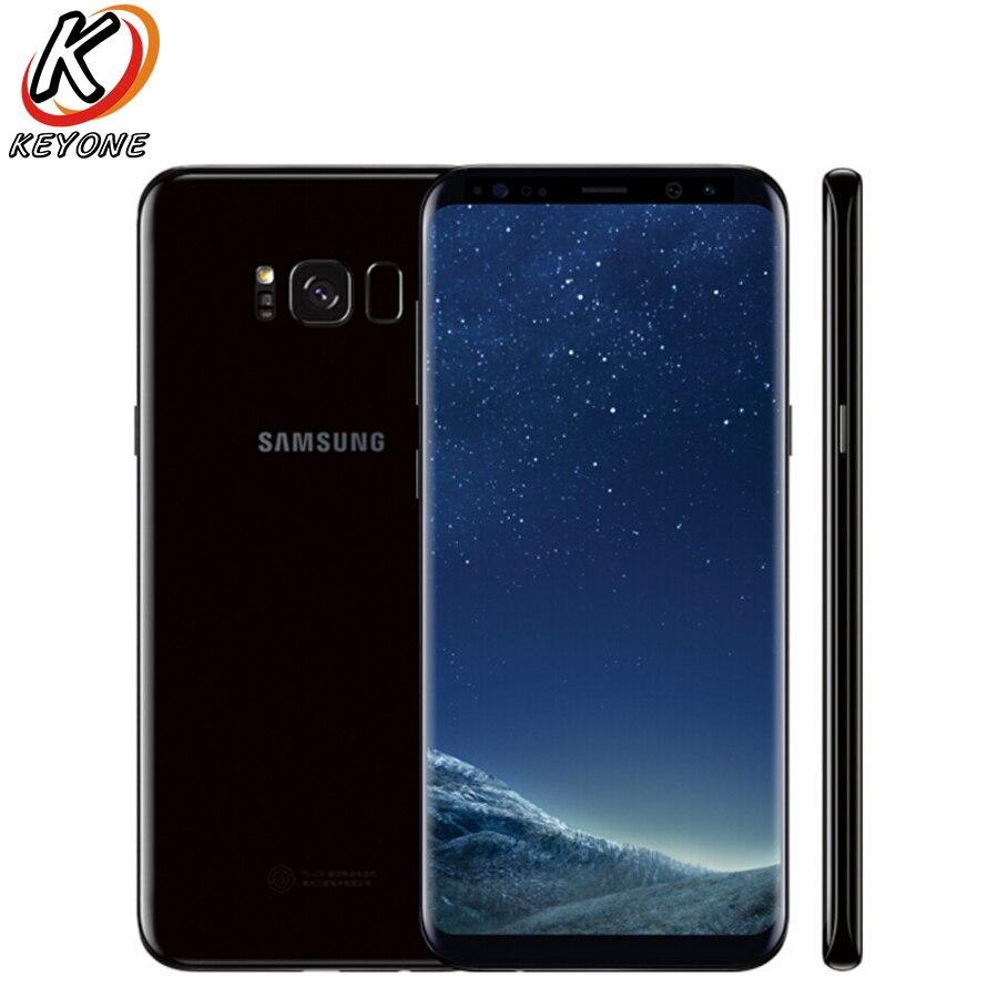 Versão Original EUA Samsung Galaxy S8 Plus G955U Mobile Phone 6.2 4 gb RAM gb ROM 64 IP68 OctaCore à prova d' água à prova de poeira Telefone NFC