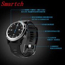 Smartch H1 GPS Wifi 3G Kamera Smart Uhr MTK6572 IP68 Wasserdicht 400*400 Pulsmesser 4 GB/512 MB Für Android IOS TELEFONE
