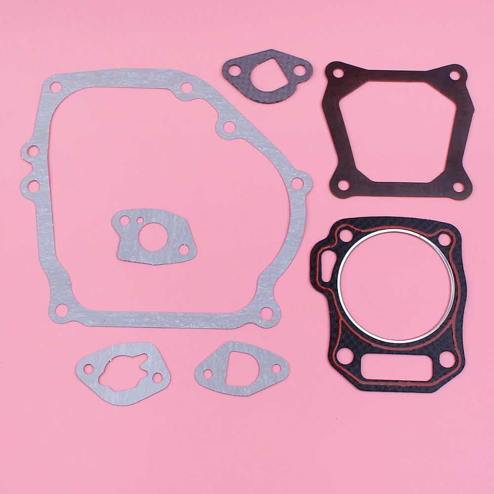Crankcase Cylinder Valve Head Carburetor Intake Gasket Set For Honda GX160 GX200 168F 170F Gas Engine Motor Part 70.5mm