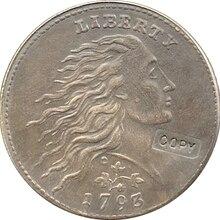 1793 венок лист цент копия монет Копер производство