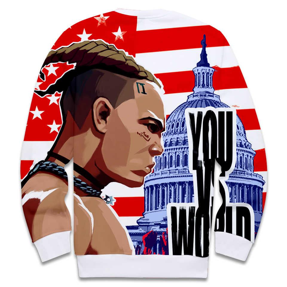 Прямая поставка XXXtentacion хип-хоп толстовка с капюшоном 3D Толстовка для женщин монолитные толстовки пуловер женский монолитный Свитшот Повседневная одежда топы