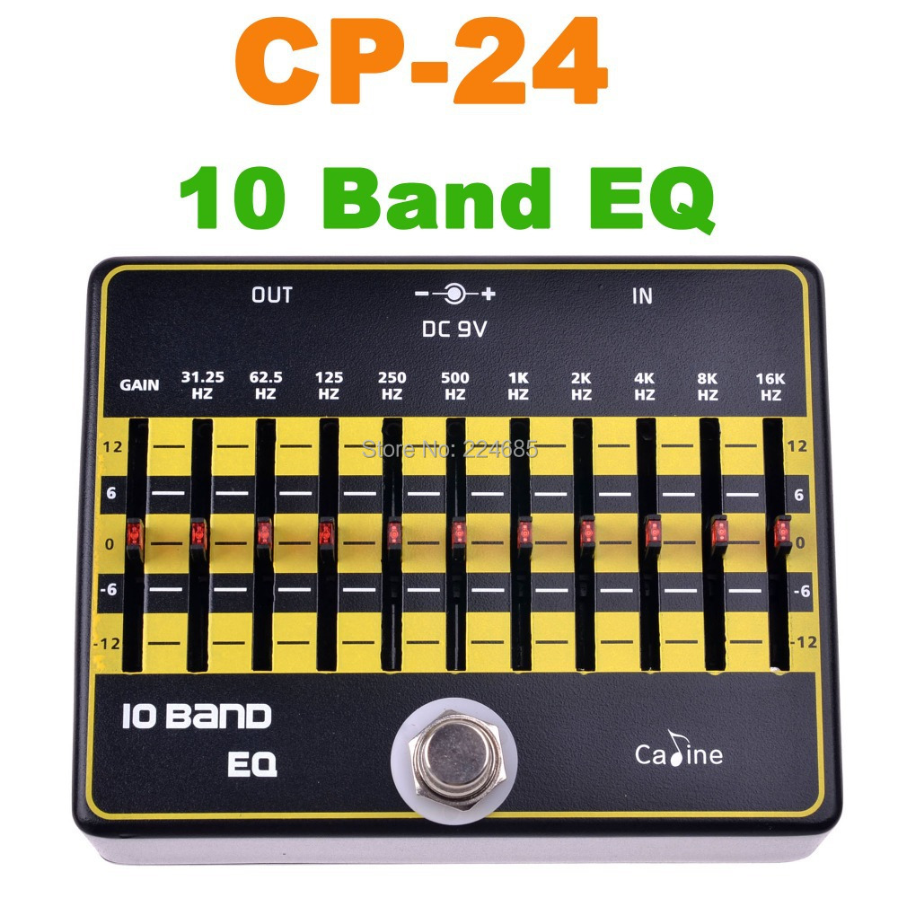 buy cp 24 10 band eq guitar effects caline guitar pedals effect pedal cp24 10. Black Bedroom Furniture Sets. Home Design Ideas