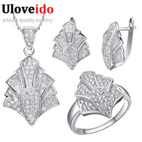 925 Sterling Silver Jewelry Sets Fashion Set Micro Pave Zircon Decoration Tasson Series Of Jewelry Crystal