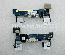 2ps/lot For Samsung Galaxy A7 A7000 Charger Dock Connector USB connector flex cable ribbon microphone headset hole+touch buttons
