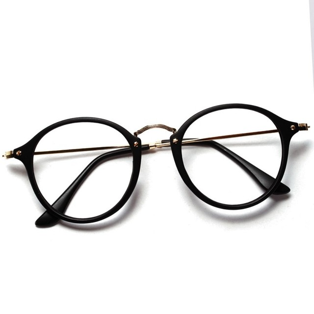 6f1fce074f58 2018 Women Men Vintage Round Eyewear Frames Retro Optical Glasses Frame  Eyeglasses Goggle Oculos
