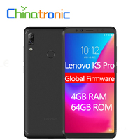 Global ROM Lenovo K5 Pro L38041 4GB 64GB ZUI 4G LTE 5.99″inch Mobile Phone Snapdragon Octa-core Dual Back Camera Fingerprint Lenovo Phones