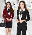 2015 nova inverno mulheres trabalho desgaste profissional ternos para uniformes escritório saia ternos de Design terninhos