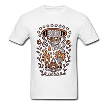 Unique T-shirt Designer Men Tshirt Great Sorcerer Summon Entity With Dark Popcorn T Shirt Comics Style Printed University Tops цена и фото