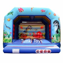 Small bouncer, inflatable ocean bouncy