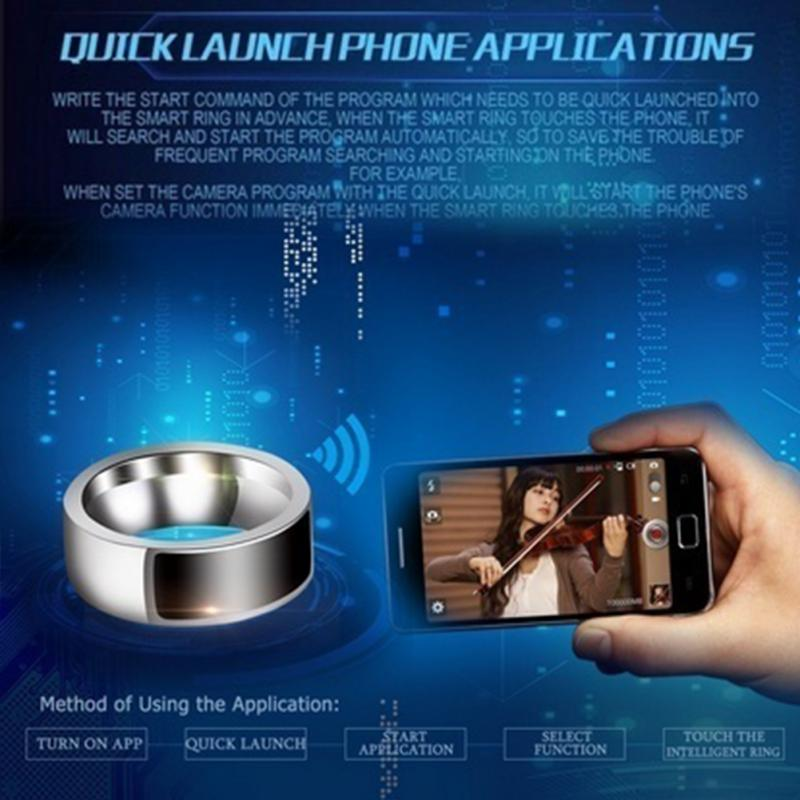 NFC Multifunctional Waterproof Intelligent Smart Ring 13