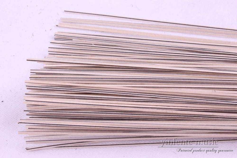 50 strip LUTHIER PURFLING BINDING MARQUETRY INLAY Side Inlaid 810x1.5x1.5mm #93 new luthier tool electric violin purfling groove cutter q1