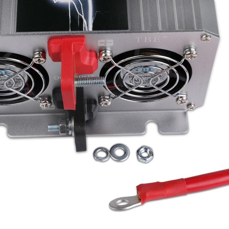 4000W Reine Sinus Welle Auto Power Inverter DC 12 V/24 V/48 V ZU AC 110 v/220 V Für Solar/Wind/Auto/Gas Power Converter Spitzenleistung 8000W