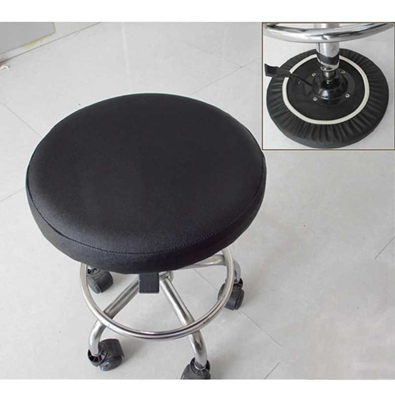Brilliant Stool Cover Faux Leather Round Chair Cover Dental Chair Lamtechconsult Wood Chair Design Ideas Lamtechconsultcom