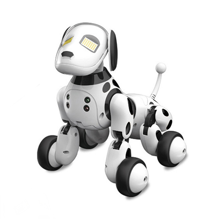 DIMEI 9007A Intelligent RC Robot Dog Toy Smart Electric Dog Kids Toys RC Intelligent Robot Gifts for Birthday Present стоимость