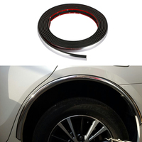 Car Fender Flares Arch Wheel Eyebrow Protector Sticker For Ford Focus 2 3 Fiesta Volkswagen VW