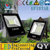 10 pçs/lote 10 W-100 W 85 ~ 265 V LED projector jardim iluminação da busca lâmpada levou holofotes