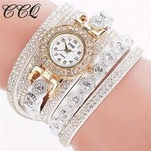 Brand CCQ Women Watches Fashion Clock Classical a Bracelet Watch Females Ladies Watch Relojes Mujer 2017 Saatler Montre Femme
