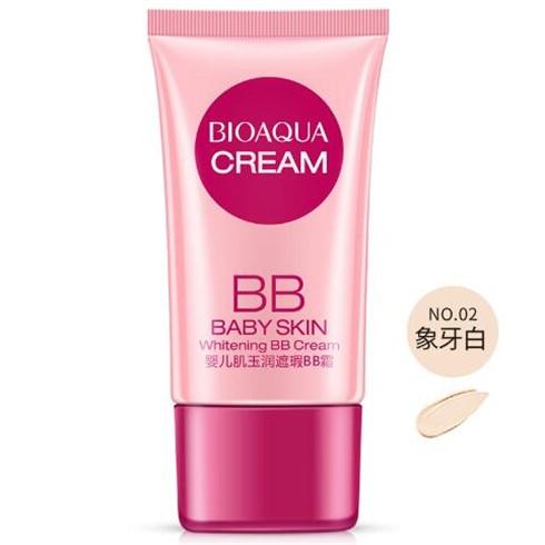 3 цвета BB Крем тональный, для придания яркости Отбеливающая увлажняющая основа для лица основа для макияжа красота уход за кожей - Цвет: Ivory white
