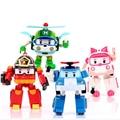4pcs/Set Korea Deformation Robot Classic Plastic Transformation Toys Best Gifs Toys For Children Free Shipping #E