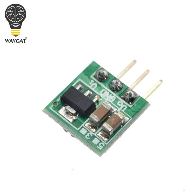 WAVGAT 0.9-5V To 5V DC-DC Step-Up Power Module Voltage Boost Converter Board 1.5V 1.8V 2.5V 3V 3.3V 3.7V 4.2V To 5V