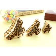 High Quality Women Lady Girls Leopard Hair Clip Claw Hair Accessory Clamp Headpiece 3 Size Trendy Hair Claws Hair Gripper M02199
