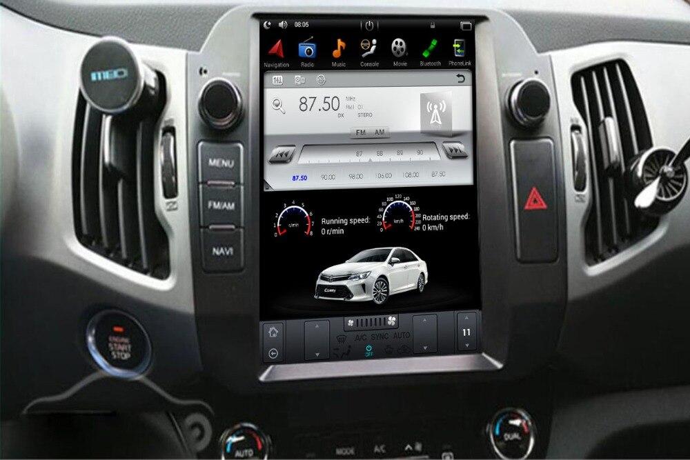 Tesla estilo IPS pantalla Android 7,1 de 6,0 coche reproductor de DVD de navegación GPS para Kia Sportage R 2010, 2011 2012, 2013, 2014, 2015