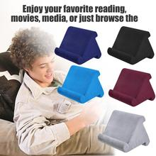 Multi-Angle Soft Pillow Lap Stand For IPads Tablets EReaders Smartphones Books Magazines Reading Bracket