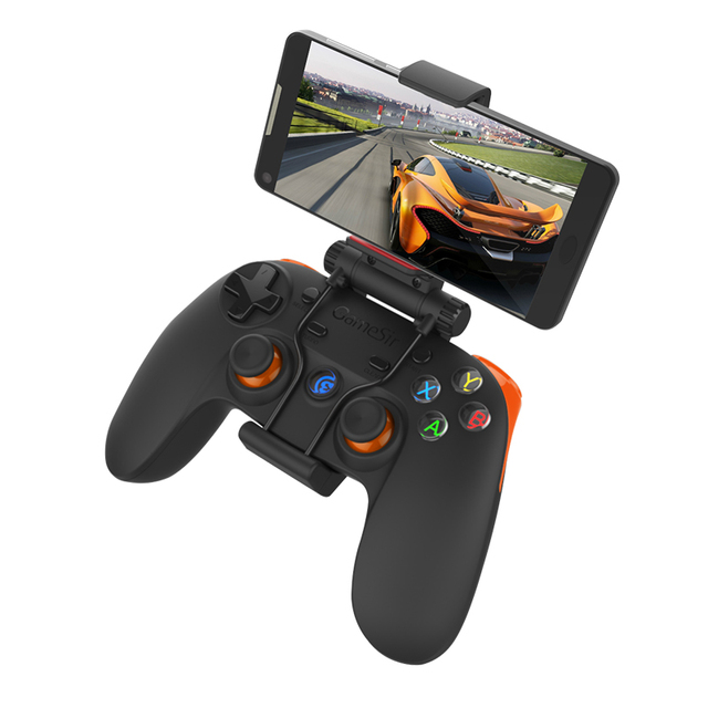 GameSir G3s 2.4Ghz Wireless Bluetooth Gamepad Joystick Phone Controller for Android Smartphone TV BOX  Tablet Windows PC(Orange)