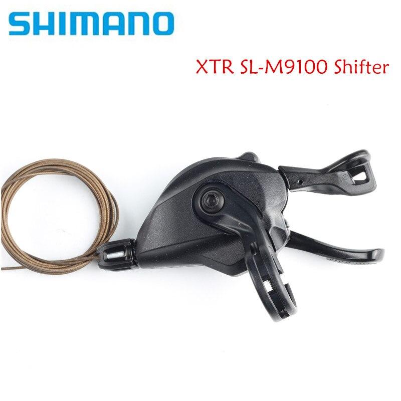 SHIMANO XTR SL-M9100 12 vitesses manette de vitesse RAPIDFIRE PLUS MONO levier de changement de vitesse M9100 levier de manette de vitesse 2x12 vitesses