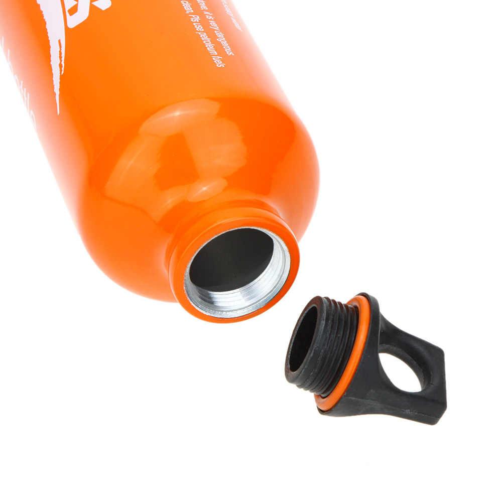BRS Aluminiumlegering Brandstof Fles Benzine Kerosine Diesel Fles Alcohol Liquid Gas Opslag Fles Voor Outdoor Camping Picknick Kachel