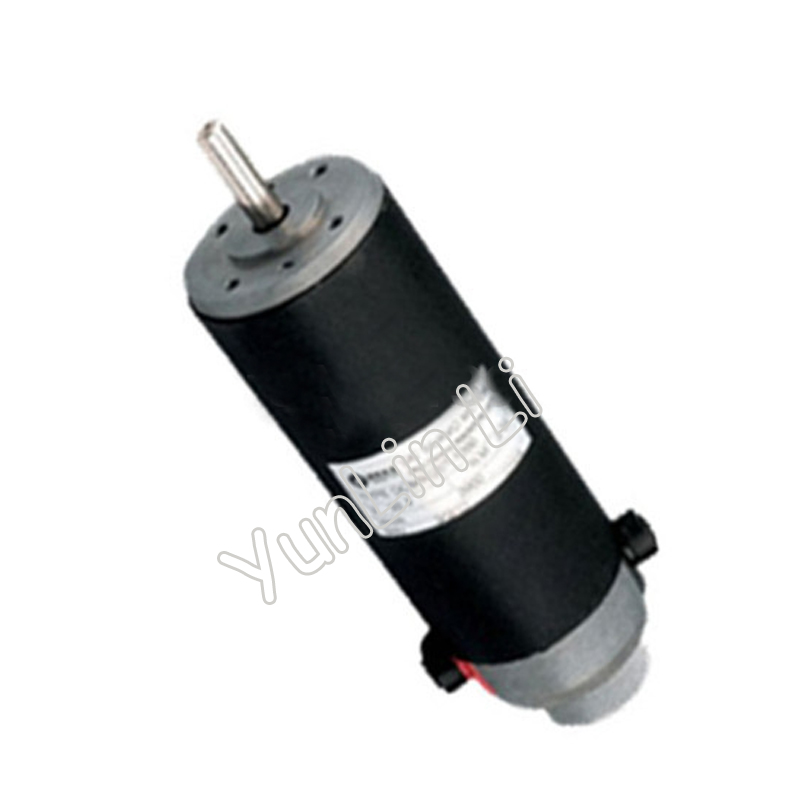 New 120W DC Servo Motor Brushed 2900 rpm Single-ended with English Manual dc motor encoder DCM50207-1000 smt motor sanyo denki l404 011e17 dc servo motor genuine new